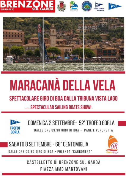 Centomiglia International an World sailing racing 2017